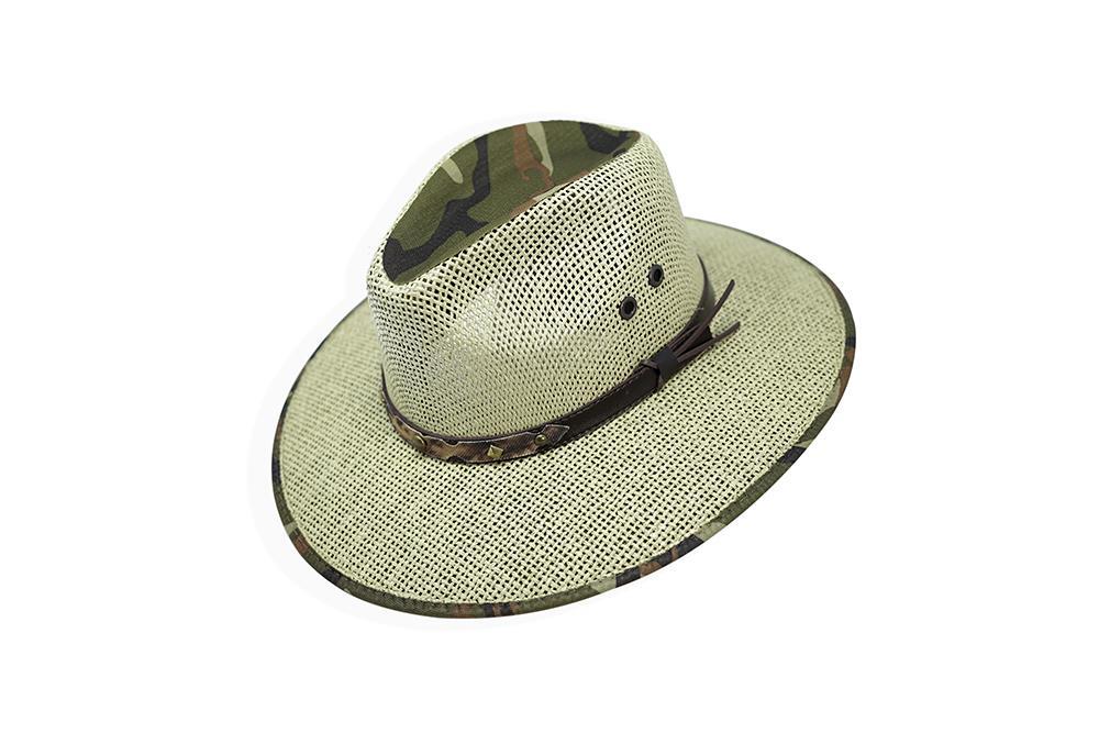 Morcon Hats - Italy Seagrass Indiana Forrado Militar 222010103939